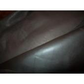 Skóra naturalna czekoladowy brąz - matowa