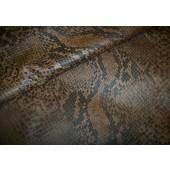 Skóra naturalna na sukienkę. Ekskluzywna włoska skóra nauralna odzieżowa. Skóra naturalna wężowa. Skóra naturalna sprzedaż