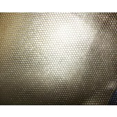 Skóra naturalna srebrna z fakturą