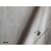 Skóra naturalna zamszowa elastyczna beżowa jasna_ skóra elastyczna beżowa na bluzki, spódnice, spodnie w Leather-design.eu.