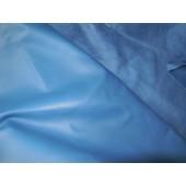 Skóra naturalna licowa, cienka w kolorze niebieskim_ skora naturalna włoska Leather-design.eu