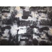 Ekskluzywna skóra naturalna czarna ze srebrnym połyskiem-skóra naturalna odzieżowa-skóry naturalne w Leather-design.eu