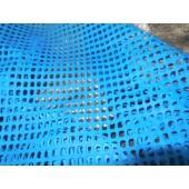 Skóra naturalna niebieska wycinana laserowo -  skora naturalna włoska cienka Leather-design.eu