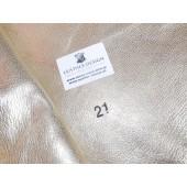 skóra naturalna srebrna -  skóry naturalne licowe w Leather-design.pl