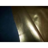 skóra naturalna złota z super połyskiem.