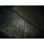 Skóra naturalna czarno-złota  , ciekawy wzór.