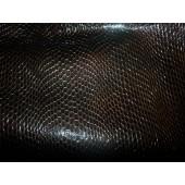 Skóra naturalna kaletnicza z fakturą czarna