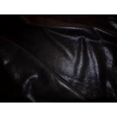 Ekskluzywna skóra naturalna czarna zamszowa-skóra naturalna dwustronna-Skora naturalna czarna-Włoskie skóry naturalne, skóra naturalna odzieżowa sprzedaż Warszawa w Leather-design.eu