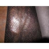 Włoska skóra naturalna brązowa na torebki, kosmetyczki i inne. Skóra naturalna brązowa lakierowana - połysk_skory naturalne lakierowane w Leather-design.eu