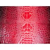 Skóra naturalna kaletnicza wzór krokodyla - skóry naturalne kaletnicze - torebka ze skóry naturalnej w Leather-design.eu