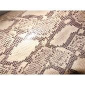 Skóra naturalna kaletnicza wzór węża - skory naturalne kaletnicze.w Leather-design.eu