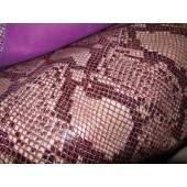Skóra naturalna fioletowa wzór węża - skory naturalne kaletnicze w Leather-design.eu