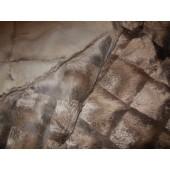 Futerka szare wzór z królika - pakiet futerka z królika kolory, wzory- sprzedaż błamy królika w hurtowni Leather-design.eu