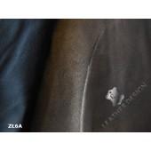 Skóra naturalna zamszowa w ciemniejszym odcieniu złota w Leather-design.pl